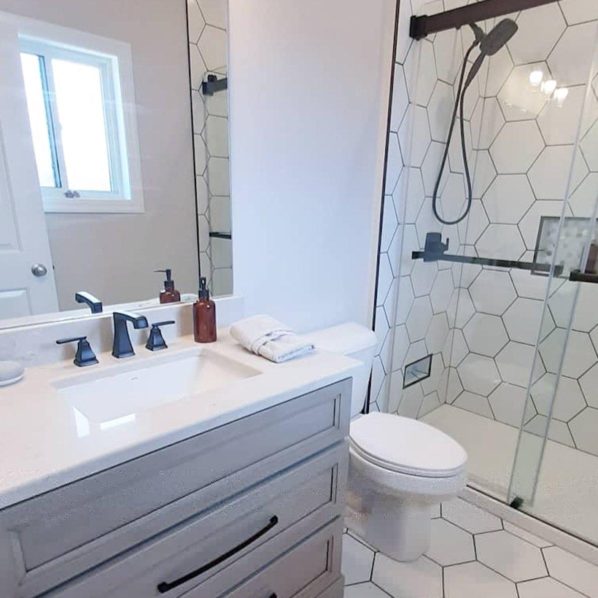 Kassar bathroom renovation